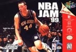NBA Jam 99 (USA) Box Scan